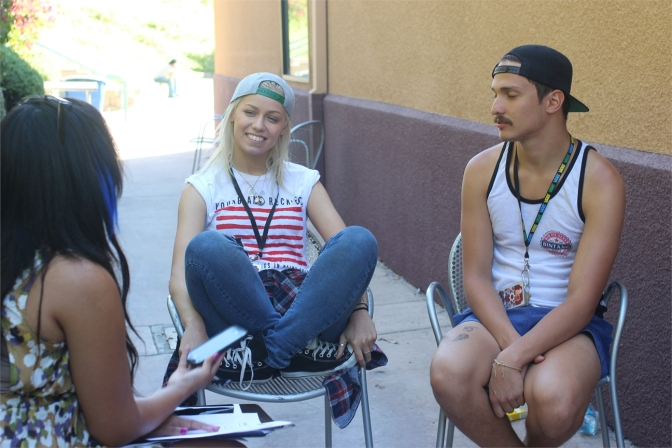 Behind the Scenes of the Warped Tour Interviews