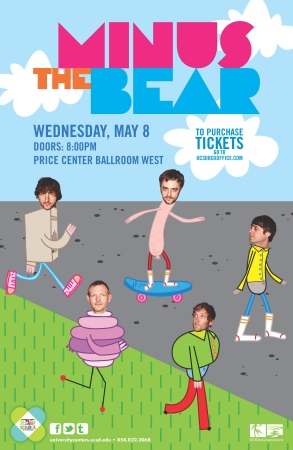 minus the bear the new limb ucsd price center san diego the indie sd